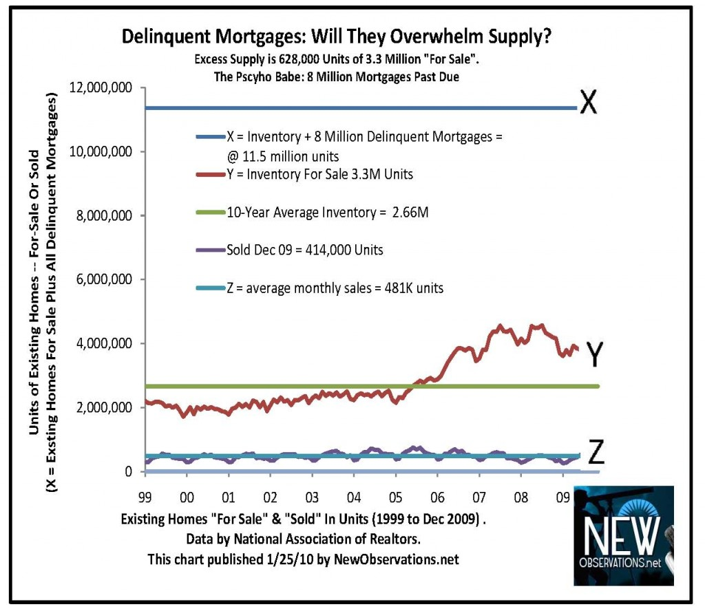 inventory & sales NAR 1999 to 12 2009 newobservations.net v delinquent