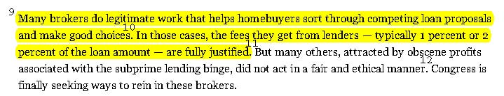 Predatory Deception Falsifies New York Times Editorial on Mortgage Brokers